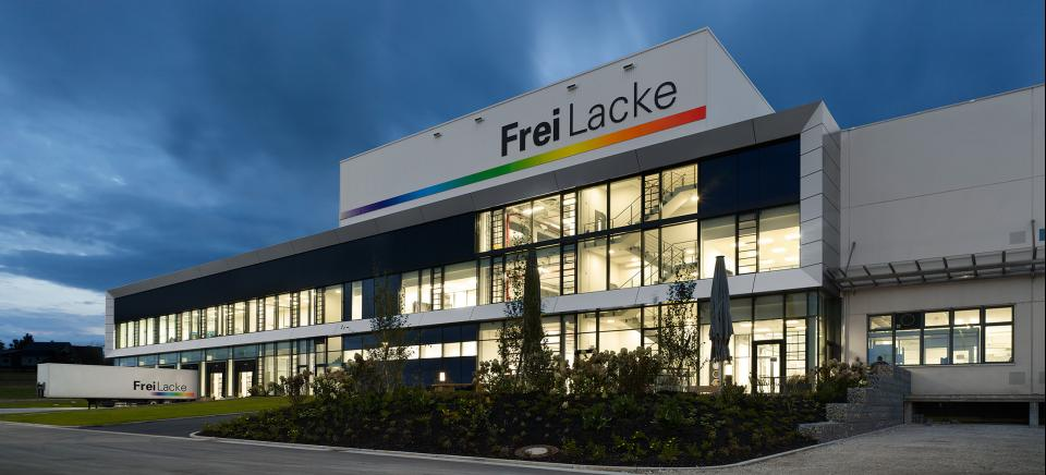 FreiLacke Logistik, Produktion