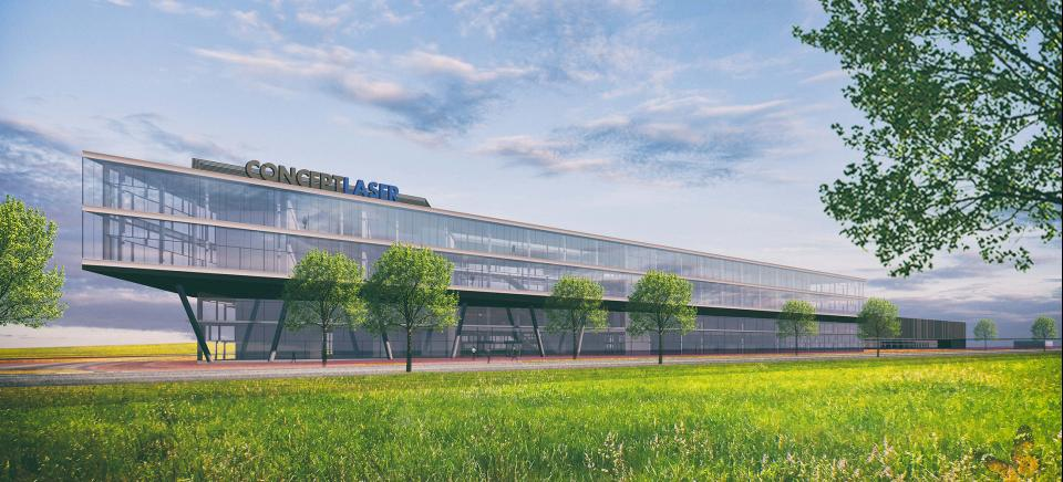 GE Additive 3D Campus | Verwaltung