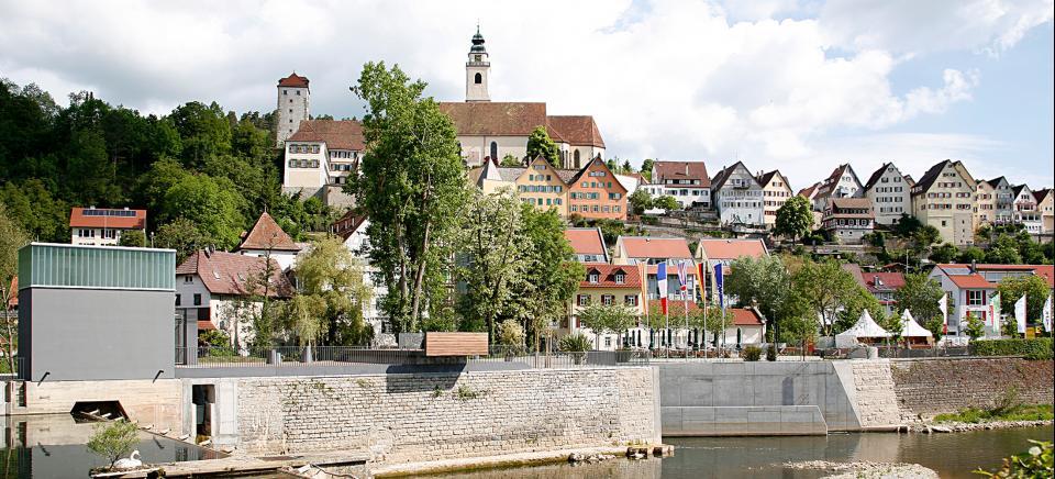 Stadtwerke Tübingen Wasserkraftanlage