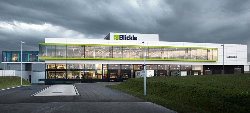 Blickle Räder+Rollen Logistikzentrum Europa