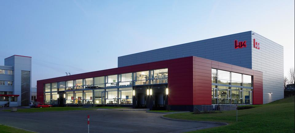 Heckler & Koch Logistikzentrum Hochregallager