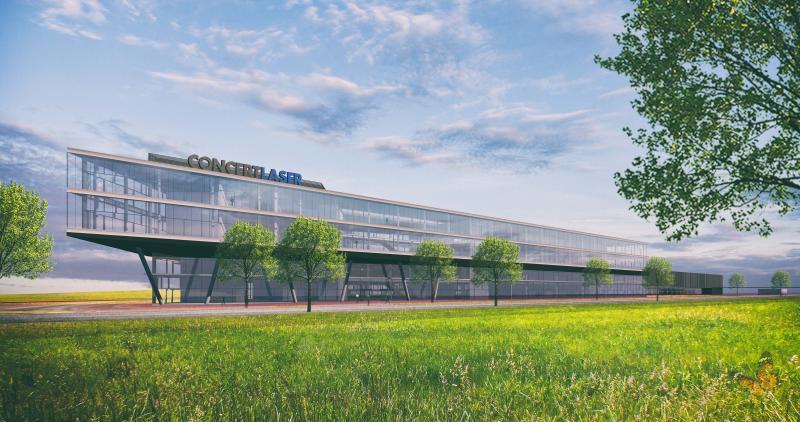 Concept Laser 3D Campus Lichtenfels | 3D Rendering