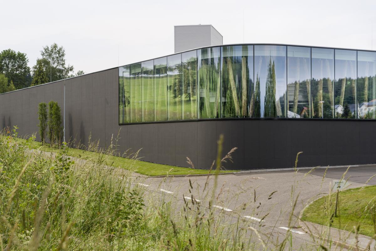 Das neue Lager von zieflekoch in Cresbach © Bernhard Kahrmann für SCHMELZLE+PARTNER MBB ARCHITEKTEN BDA