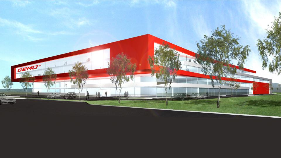 GEMÜ Schweiz Reinraumfabrik BA II